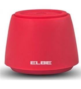 Altavoz portatil Elbe alt002 bluetooth rojo ALT002BT - 8435141905419