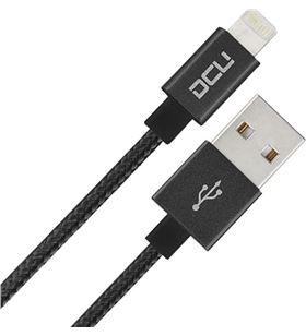 Sihogar.com conexion usb-mfi iphone 5/6/7 negro aluminio 1m 34 34101220 - 8436556988301