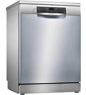 Bosch SMS46FI01E lavavajillas libre instalación puerta acero antihuellas
