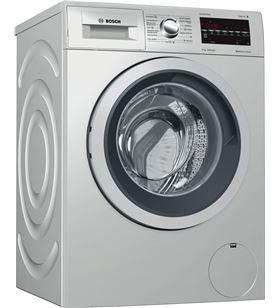 Lavadora c/frontal Bosch WAT2849XES inox 8kg 1400r