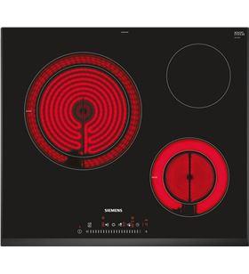 Siemens placa eléctrica vitroceramica ET651FKP2E 60cm 3 zonas