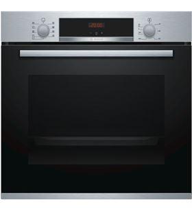 Horno indep 60cm Bosch HBA512BR0 negro/inox 71l a