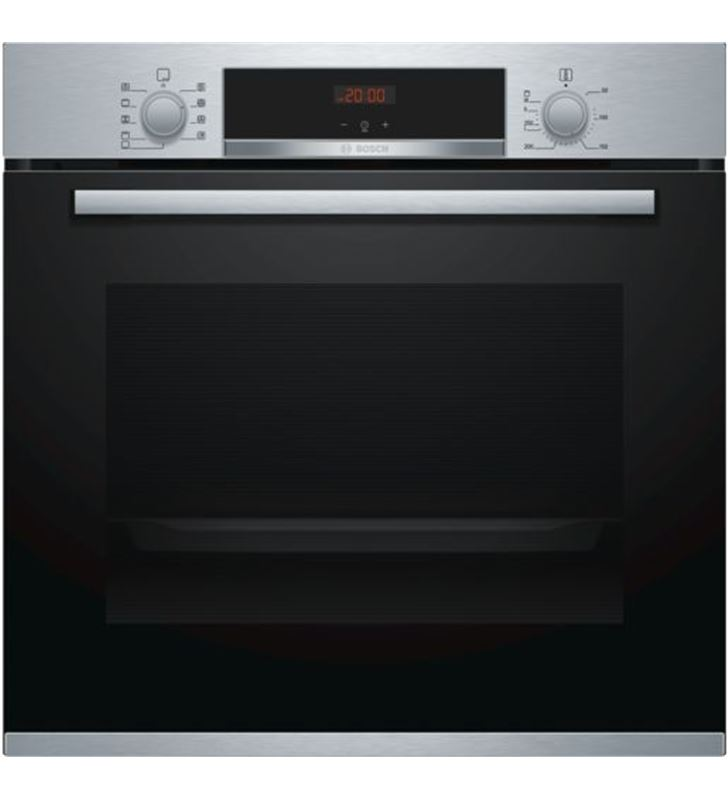 Horno indep 60cm Bosch HBA512BR0 negro/inox 71l a Hornos eléctricos independientes - 4242005056477