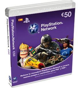 Sony SPS9893837 tarjeta de puntos para ps3/psp de 50 euros - 9893837