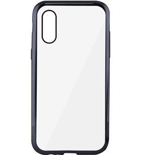 Funda flex metal Ksix tpu iphone x transparente gris metalizado B0938FTP15 - CONB0938FTP15