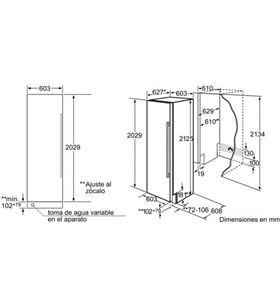 Congelador vertical Siemens FI24NP31, integrable Congeladores verticales integrables - 19630642_6530