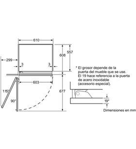 Congelador vertical Siemens FI24NP31, integrable Congeladores verticales integrables - 19630642_8053