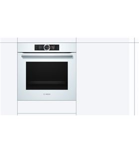 Bosch HSG636BW1 horno independiente blanco a+ vapor 100% - HSG636BW1