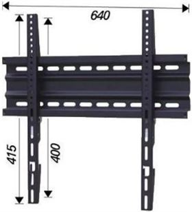 Hifirack soporte tv SLIM600 Soportes televisores - SLIM600