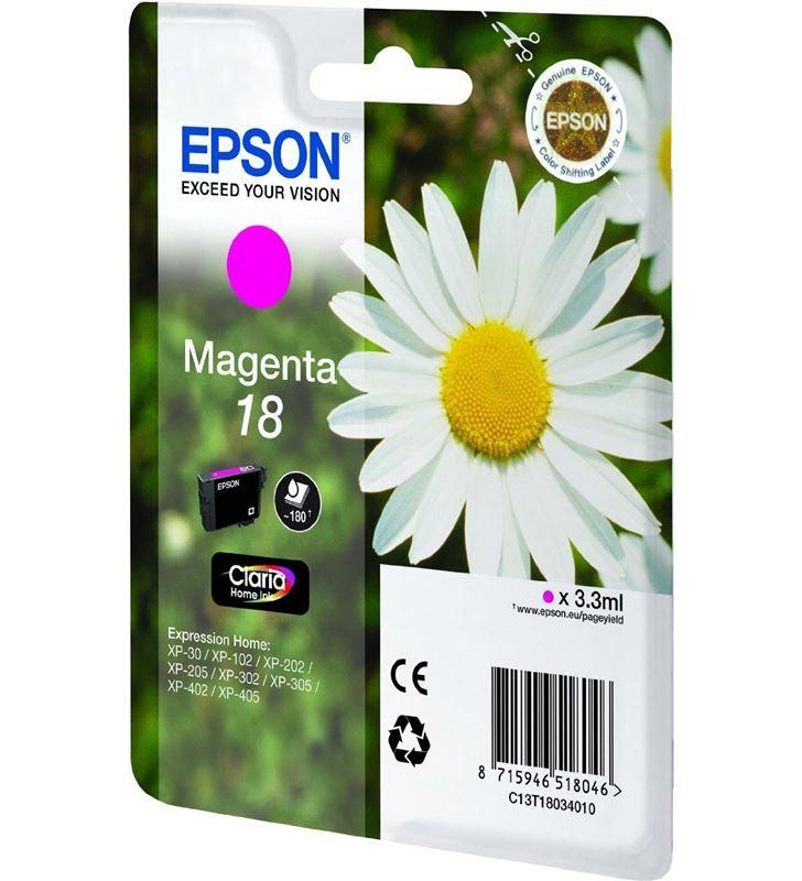 Cartucho tinta Epson C13T18034010 magenta (margar Fax digital y cartuchos de tinta - 14094260_5154