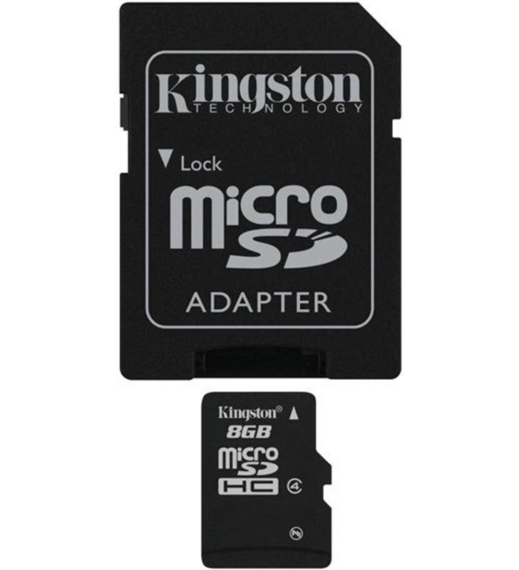 Kingston microsd 8gb - tarjeta de memoria flash mb KINMICROSD8GB_A - 16713_1646390_8735