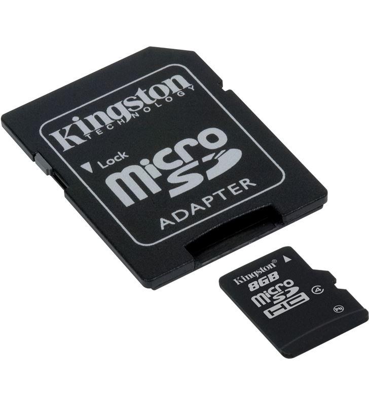 Kingston microsd 8gb - tarjeta de memoria flash mb KINMICROSD8GB_A - 1646390_918