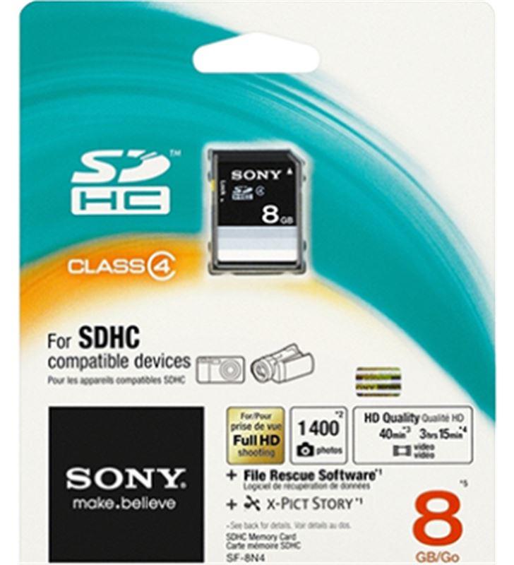 Tarjeta sdhc 8gb Sony SF8N4 ( 15mb/s ) Memorias de ordenador USB - 3962095-SONY-SF8N4-15262
