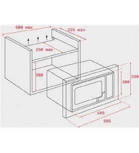 Teka 40584010 microoondas con grill wish ms 620 bisms620bis - MS620BIS