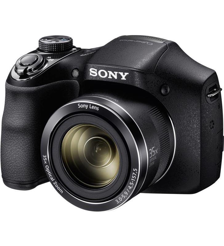 Sony camara foto digital DSCH300BCE3 22,3mm; 35x, Cámaras fotografía digitales - 19692707_3141593665
