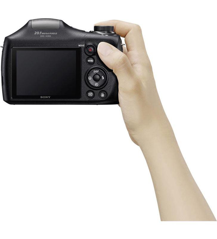 Sony camara foto digital DSCH300BCE3 22,3mm; 35x, Cámaras digitales - 19692707_7357893745
