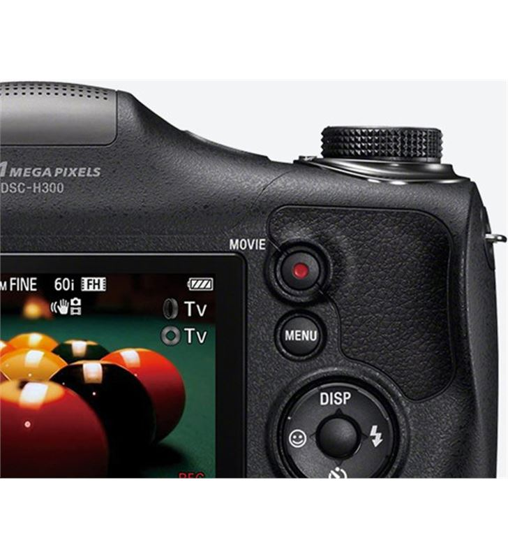 Sony camara foto digital DSCH300BCE3 22,3mm; 35x, Cámaras digitales - 19692707_7000600943