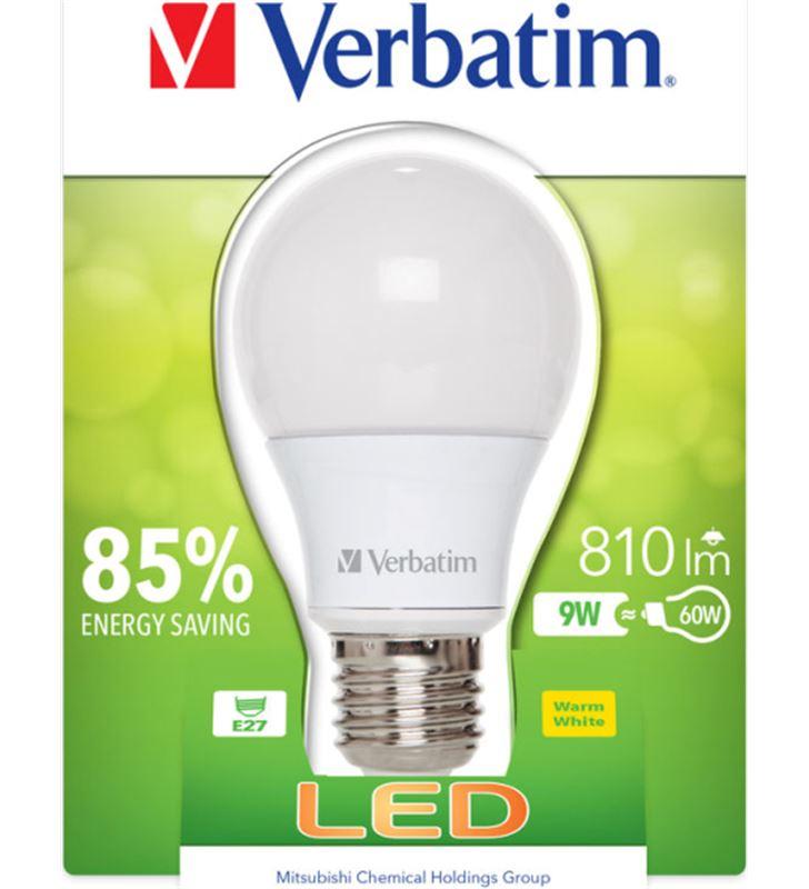 Verbatim bombilla led verbatin 52601 classic a e27 9w - 21504316_7651