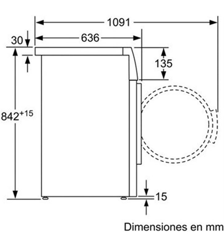 Siemens secadora bomba calor WT45W238EE 8kg a++ blanca - 22838501_2907