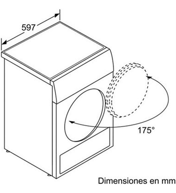 Siemens secadora bomba calor WT45W238EE 8kg a++ blanca - 22838501_8855