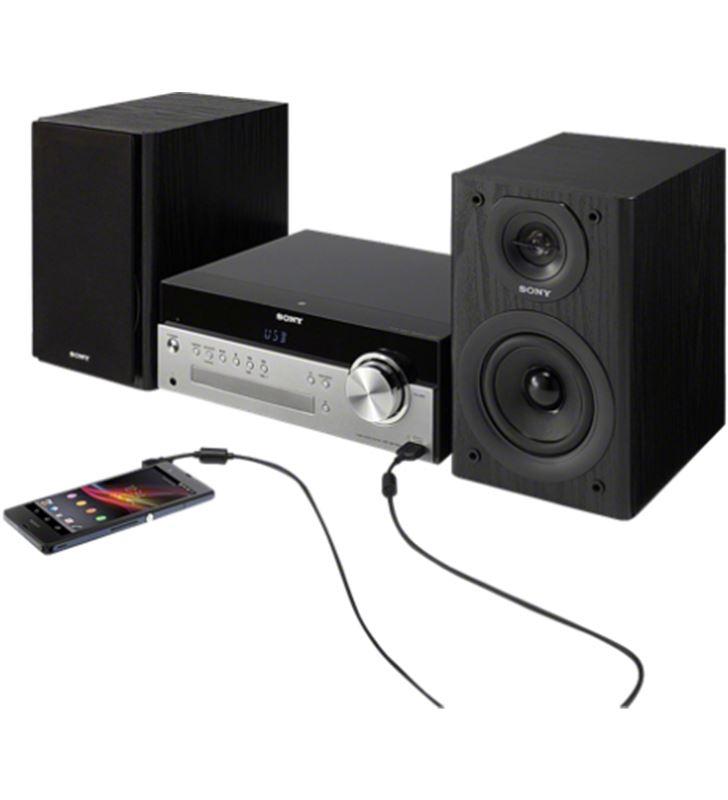Sistema hifi SonyCMTSBT100CEL, con cd, usb, Minicadenas y microcadenas - 19294547-SONY-CMTSBT100.CEL-61003
