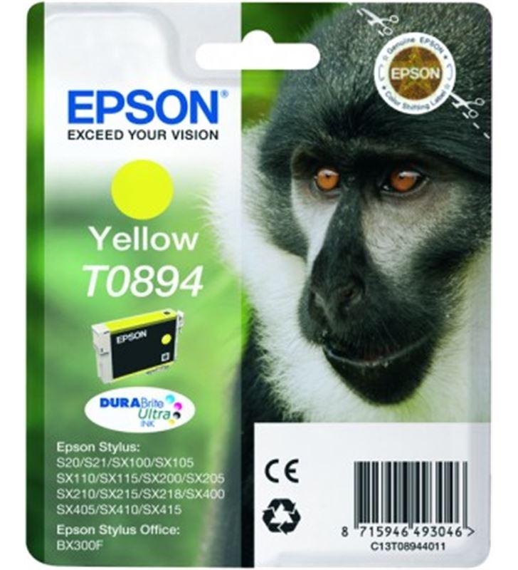 Cartucho tinta Epson c13t08944011 amarillo EPSC13T08944011 - 3526168-EPSON-C13T08944011-18941