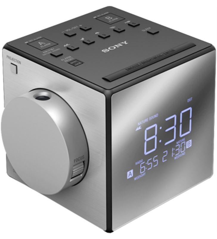 Sony radio reloj despertador ICFC1PJCED, proyector - 21547197_5542