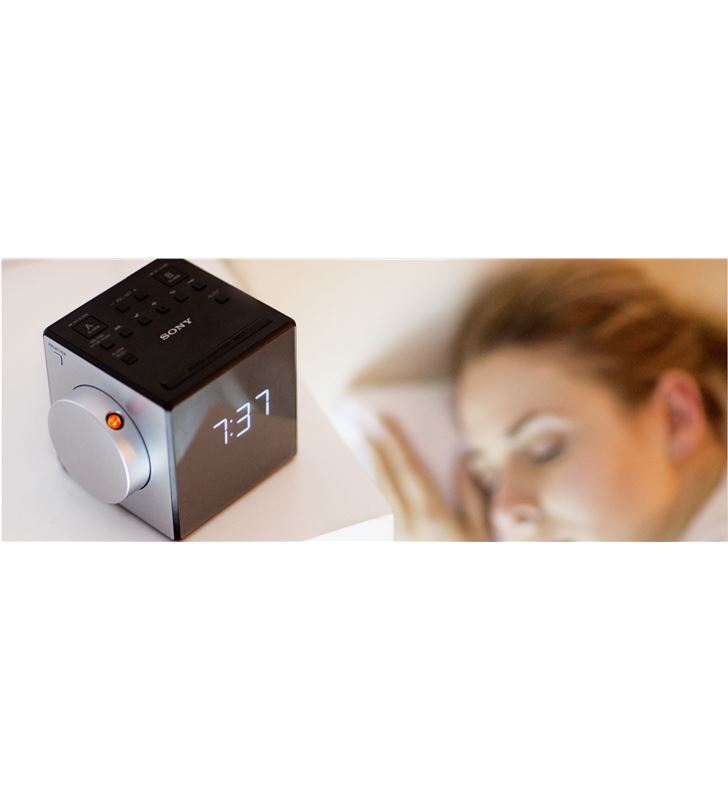 Sony radio reloj despertador ICFC1PJCED, proyector - 21547197_992
