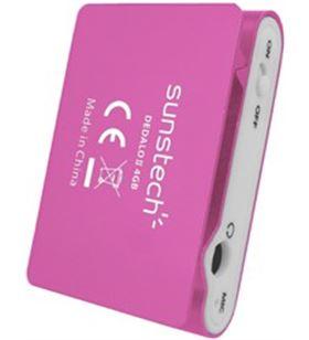 Mp3 4gb Sunstech dedaloiii rosa DEDALOIII4GBPK Reproductores - 8429015016196