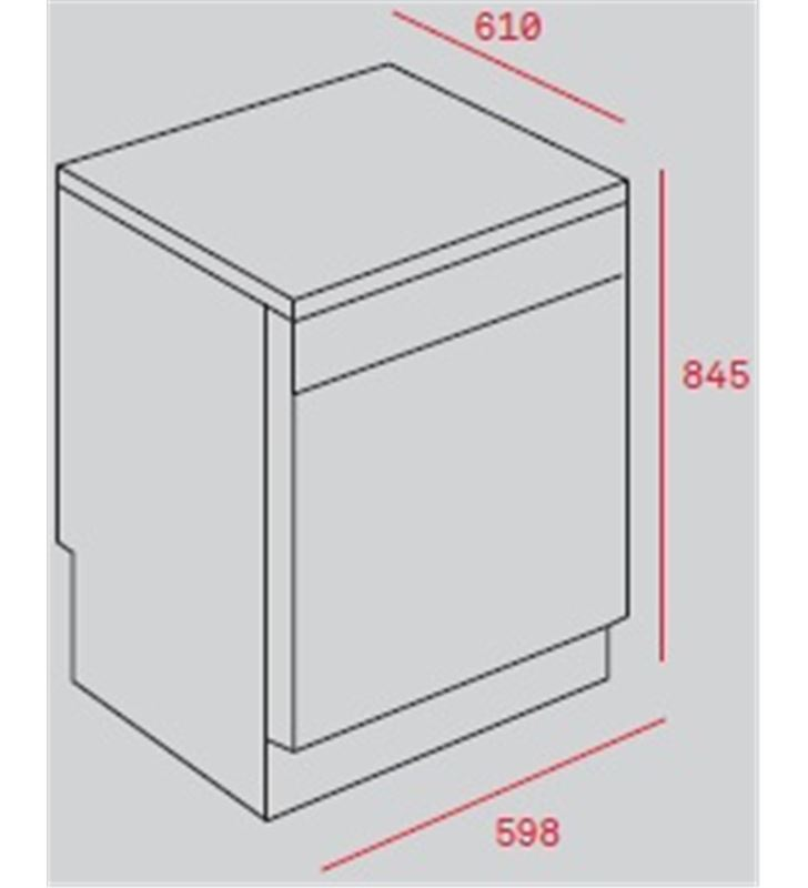 Teka 40782360 lavavajillas lp8 820 inox clase e Lavavajillas - 30448552_0888
