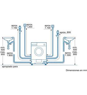 Balay lavadora-secadora carga frontal 3TW776B 7-4kg 1200-600rpm b integrabl - 3TW776B