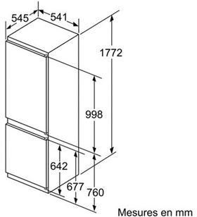 Bosch combi integrable KIV86VS30 267l 177cm Frigoríficos combinados integrables - KIV86VS30