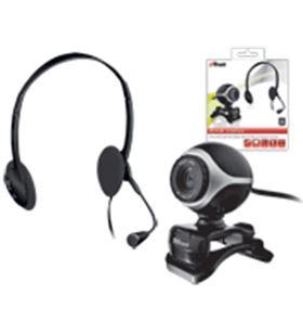 Kit auriculares con micro + webcam Trust TRU17028 Otros productos consumibles - 17028