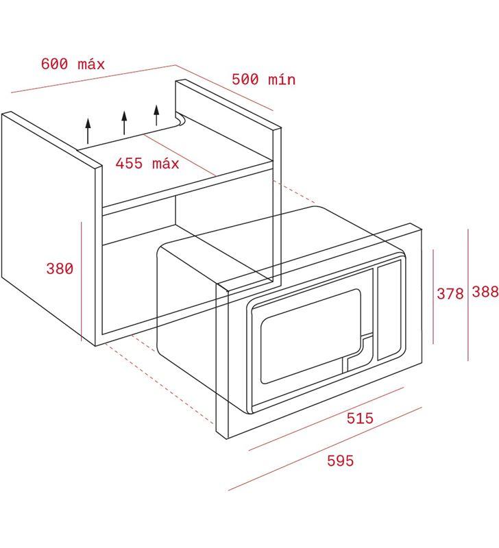 Teka horno microondas integrable mwe-255 fi 40581125 - 32122068_6031