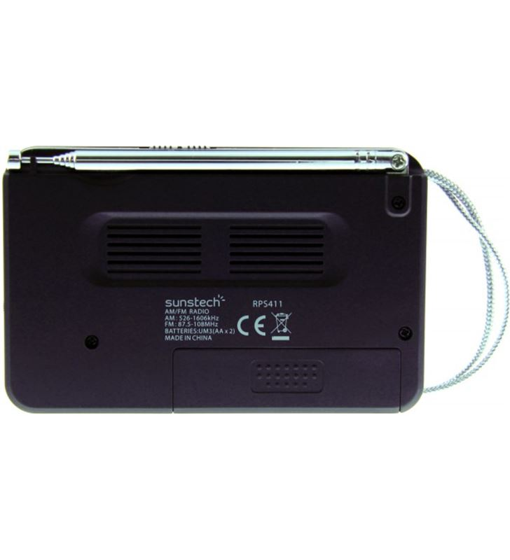 Radio portatil Sunstech RPS411BK negra Radio - 35167476_3993449640