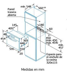 Balay horno compacto multifunción 3HB458NC Mini Hornos eléctricos - 3HB458NC