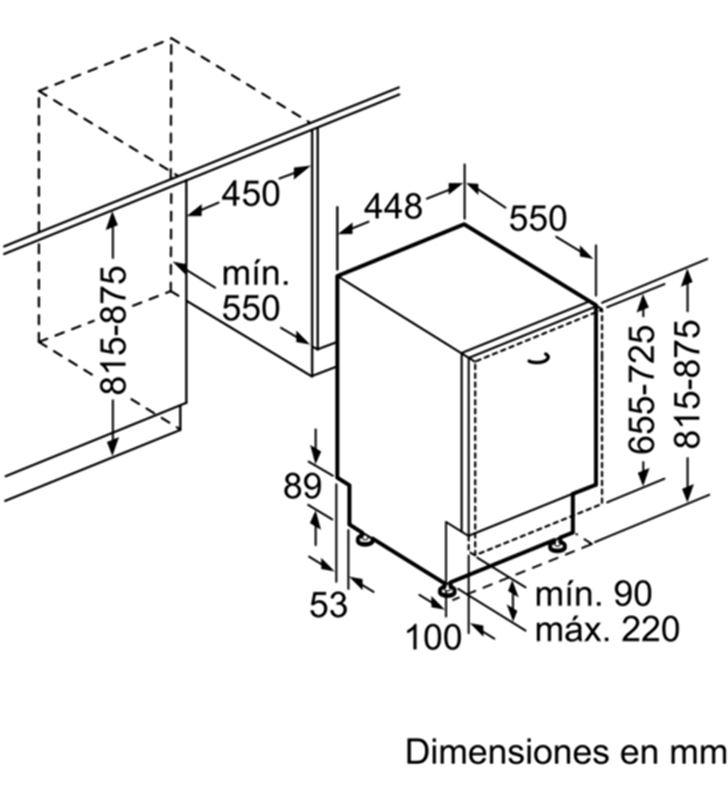 Balay lavavajillas integrable 3VT304NA Lavavajillas integrables - 35446104_6533941201