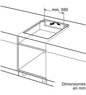 Balay placa inducción de 60cm ancho 3EB864ER Placas induccion - 3EB864ER