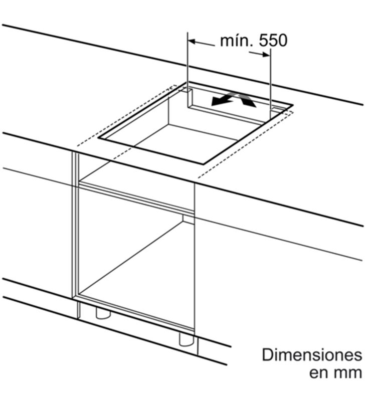 Balay placa inducción de 60cm ancho 3EB864ER Placas induccion - 35446062_4025839499