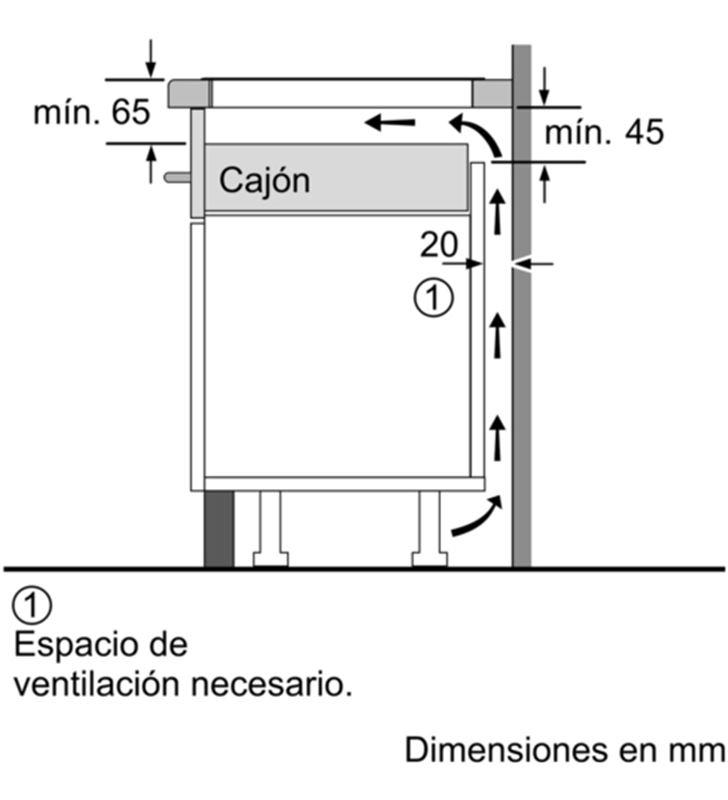 Balay placa inducción de 60cm ancho 3EB864ER Placas induccion - 35446062_7051855900
